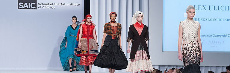 SAIC Fashion 2013 | Students showcase their work